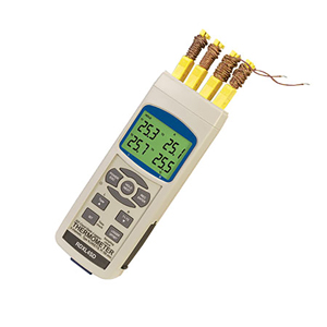 Portable Thermometer and Data Loggers with SD Card and Thermocouple Input | RDXL-SD Series