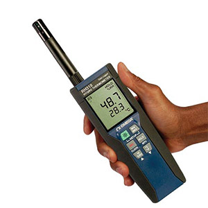 Handheld Hygro Thermometer Data Logger | RH318