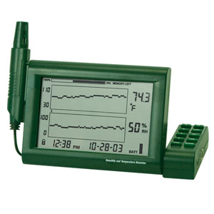 Paperless Humidity/Temperature Chart Recorder | RH520 Series