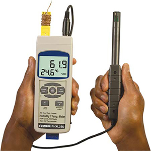 Handheld Thermometer - Hygrometer Data Logger | RHXL3SD