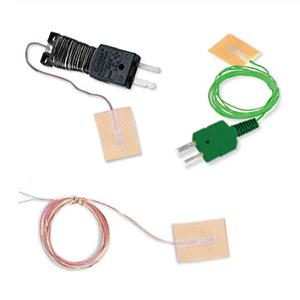 Ready-Made Surface Thermocouple with Self-Adhesive Backing IEC - Package of 5 | SA1 Series (IEC)