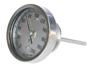 Bimetal Thermometers | AA, BB, JJ and LL Bimetal Thermometers