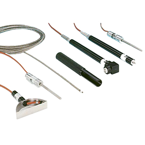 Heavy Duty Surface, Roller, General Purpose, Beaded Wire, Needle, and Surface Right Angle Thermocouples  | SP Series