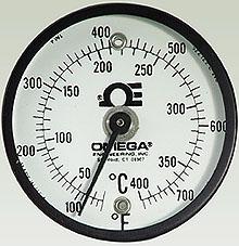 SUR Series:DialTemp™ Surface Thermometers Dual Fahrenheit & Celsius Dials