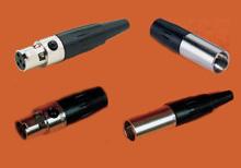 RTD 써미스터 미니 플러그 Miniature Connectors | TA3 / TA4 시리즈