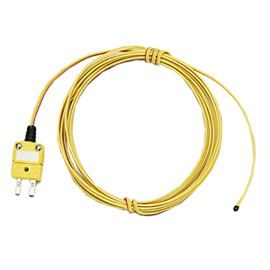 Epoxy Coated Tip Thermocouple, Model Numbers TC-PVC-(*)-24-180 and 5TC-PVC-(*) Available in J, K, T, E, Thermocouple | TC-PVC and 5TC-PVC Series