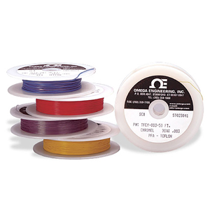 Fine Gage, Single Strand, Insulated Thermocouple Wire | TFIR,TFCH,TFCI,TFCC,TFCP,TFCY and TFAL