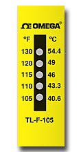 Five Dot Temp Labels | TL-F Series