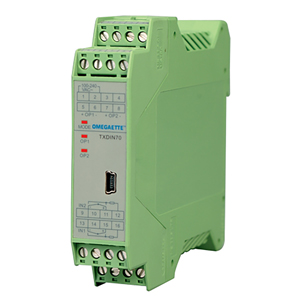 Dual DIN Rail Temperature Transmitter | TXDIN70