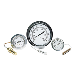 Vapor and Gas Actuated Thermometers | VA and GA Series