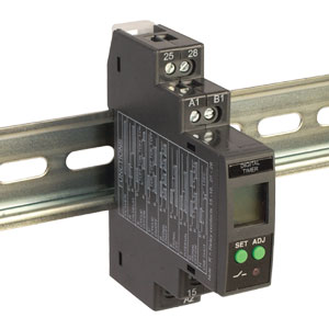 DIN Rail Mounted Multi-Functional Digital Timer | AU-AMT Series