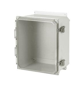 NEMA 3R and 4X Non-Metallic Fiberglass Electrical Outdoor Enclosures | OM-AMU Series Fiberglass Enclosures