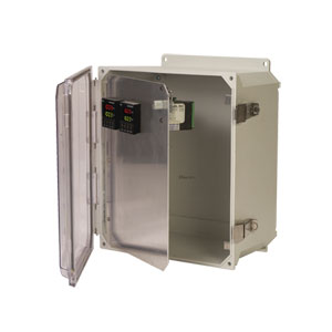 Pre-Cut Front Panels NEMA 4X Outdoor Enclosures | OM-HFPU Series Front Panels for Meters & Controllers