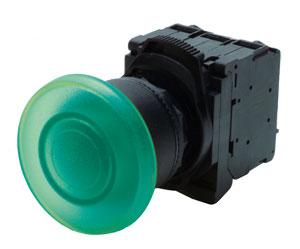 Illuminated 22.5mm Pushbuttons, E-Stops | OMPBD7-IL Illuminated Push Buttons