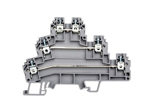 Multi-Level and Sensor Terminal Blocks | PIK & PUK Series DIN Rail Terminal Blocks