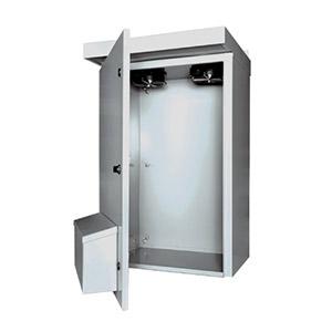 Outdoor Enclosures, NEMA 3R Electrical Enclosure with Fan | SCE-3RV Series Weatherproof enclosures