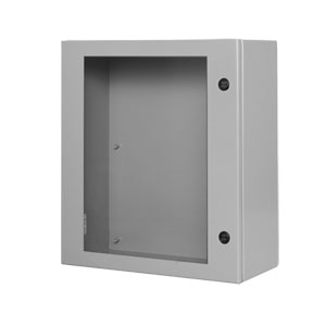 NEMA Type 4 Enviroline® Junction Outdoor Electrical  Enclosures and cabinet with Viewing Window | SCE-ELJW Series Electrical Cabinet