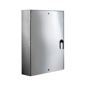 NEMA 4X 304 SS ELECTRICAL ENCLOSURE | SCE-ELSSLPPL Series Stainless Steel Electrical Wall Cabinet