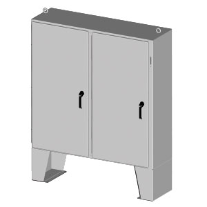 Indoor-Outdoor Enclosures with Provisions for Disconnect | SCE-XELLP Series NEMA 4 Disconnect Enclosure