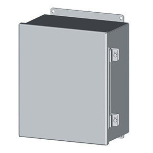 NEMA Type 4 Continuous Hinge Electrical Enclosures and Cabinets | SCE-CH Series Continuous Hinge Electrical Enclosures