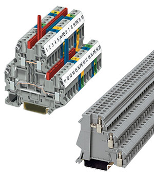 Double and Triple Level Terminal Blocks | XBUTT and XB3UK Series