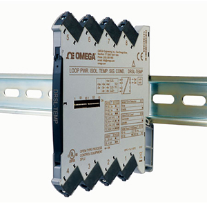 Isolated DIN Rail loop-powered Signal Conditioner | DRSL-TEMP