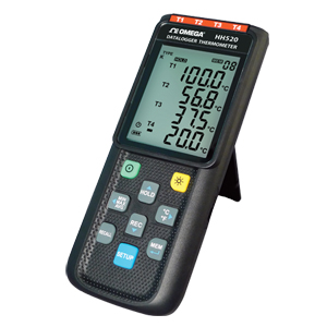 Handheld Data Logger Thermometer - Four Channels | HH520
