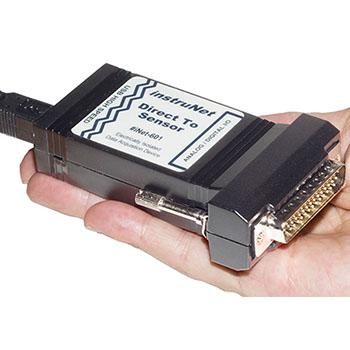 Systém sběru dat na USB s přímým připojením snímačů | iNET-600