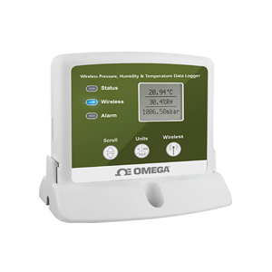 Wireless Pressure, Humidity and Temperature Data Logger with Display | OM-CP-RFPRHTEMP2000A