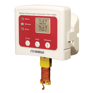 Wireless Thermocouple Temperature Data Logger | OM-CP-RFTCTEMP2000A