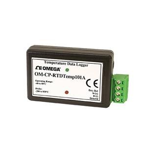 OM-CP-RTDTEMP101A - Precision RTD Temperature Data Logger | OM-CP-RTDTEMP101A