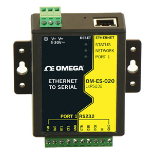 Ethernet to RS232 interface | OM-ES-020