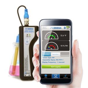 Bluetooth® převodníky teploty, vlhkosti a pH | UWBT série