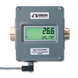Flowmeter with Digital Display and Analogue Output | FLR D Series