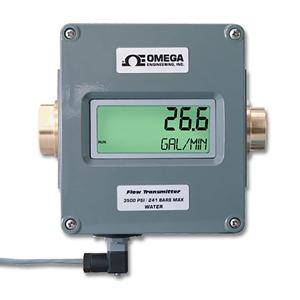 Flowmeter med digitalt display og analog udgang | FLR D Series