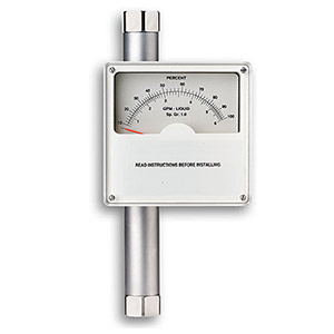 Direct Reading Analog Display Flowmeters | FL-W7100 Series