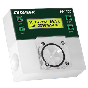 DIGITAL PLASTIC PADDLEWHEEL FLOWMETERS | FP1400 Series