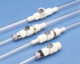 THERMOPLASTIC QUICK COUPLINGS - Polypropylene 1/8