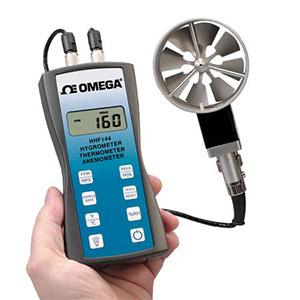 Anemometer - Handheld Rotating Vane Anemometer HHF144B | HHF144 Series