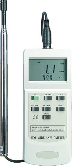 Hot Wire Anemometer | HHF42
