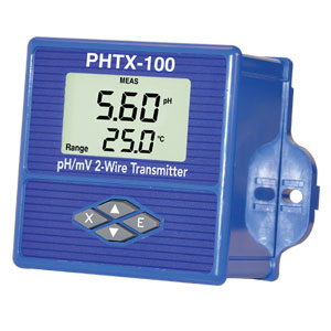 ORP Meter: pH/ORP Meter & Transmitter with Digital Display | PHTX-100