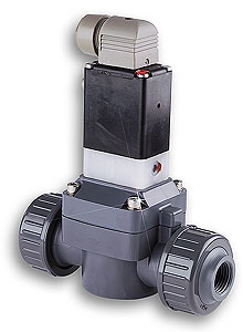 PVC Solenoid Valves for Corrosive Applications | SV-10