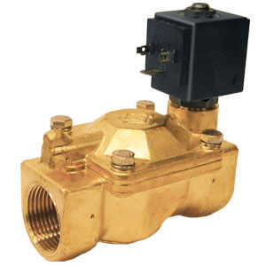 Brass 2-Way Solenoid Valves | SV6100 Series