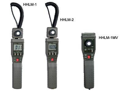 image of HHLM-1, HHLM-2, and HHLM-1MV Series