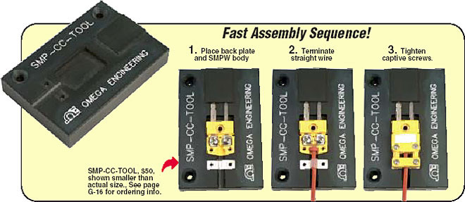 Fast assembly using the SMPW-CC-Tool