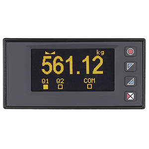 1/8 DIN High Speed Indicator with Strain-Gauge Input | DP400S