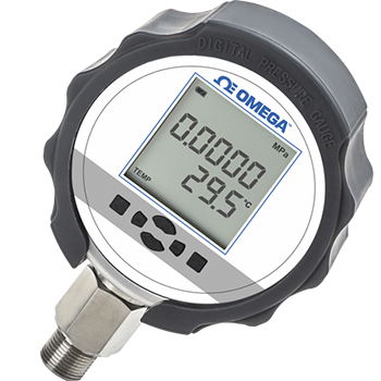 High Precision Digital Pressure Gauges with Temperature Indication | DPG210