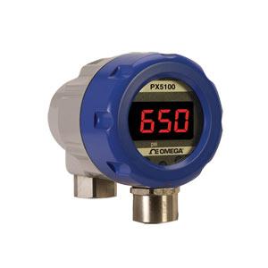 Pressure Transmitter, Industrial, Rangeable, 4-20 mA Output | PX5100 Rangeable Pressure Transmitter