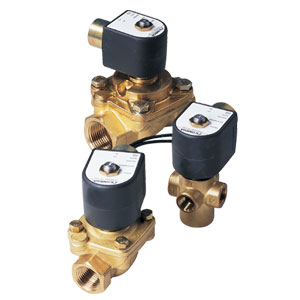 Special Purpose Solenoid Valves for Steam, Hot Water, Anti-water Hammer,  3-way, 4-way and Selectable Service