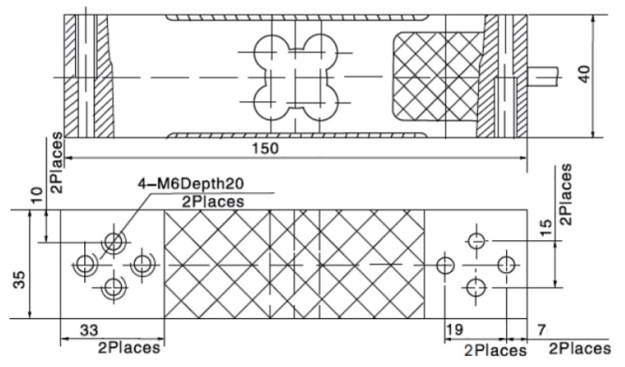 aluminum single point load cells